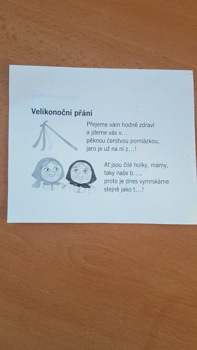 Téma týdne pro děti z MŠ a jejich rodiče 09.04 – 14.04.2020